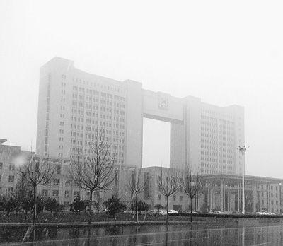 无棣县一座没有挂牌的政府部门办公楼